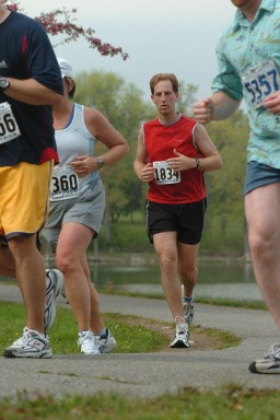 Ed Sappin Vermont City Marathon 2005